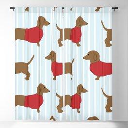Dachshund Sausage Dog Blackout Curtain