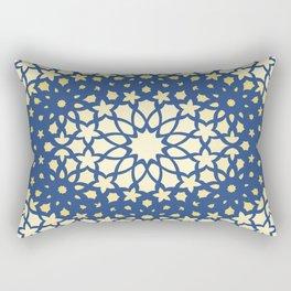 Arabesque Pattern - Golden Hour Rectangular Pillow
