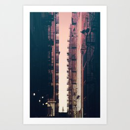 Between the Buildings - Downtown LA #36 Art Print