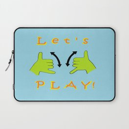 ASL Let's PLAY! Laptop Sleeve