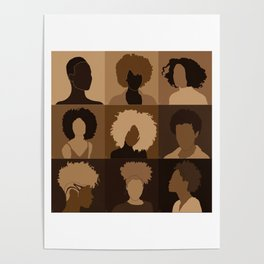 FOR BROWN GIRLS COLLECTION COLLAGE Poster
