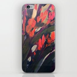 Vibrant Flower Abstract iPhone Skin