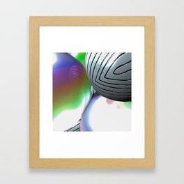 Iridescence 2 Framed Art Print