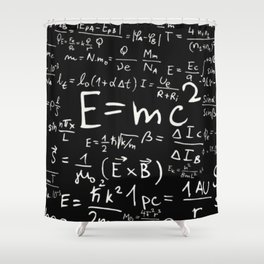 Formulas Shower Curtain