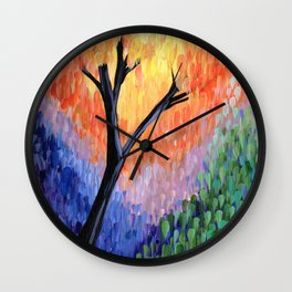 Be the Colorful Tree Wall Clock