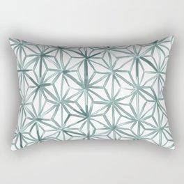 Snowflake - Succulent Rectangular Pillow