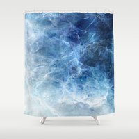 jack frost Shower Curtains featuring Frost by Tayler Smith