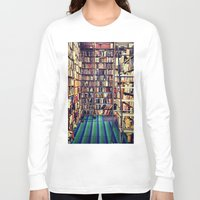 books Long Sleeve T-shirts featuring Books by Whitney Retter