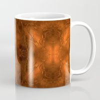 gold foil Mugs featuring Gold Foil Texture 6 by Robin Curtiss