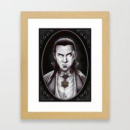 Bela Lugosi (Dracula) Framed Art Print