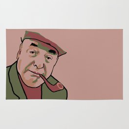 Pablo Neruda Rug