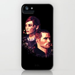 Facets of Shepard iPhone Case