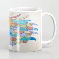 metallic Mugs featuring Metallic Dragon by J&C Creations