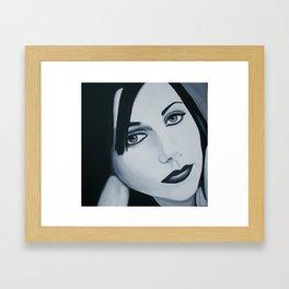 Polly Jean Muse Framed Art Print