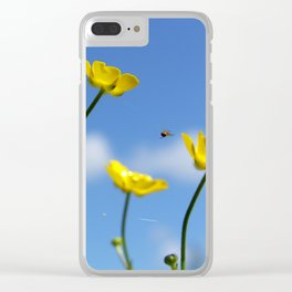 Buttercups in Spring Clear iPhone Case