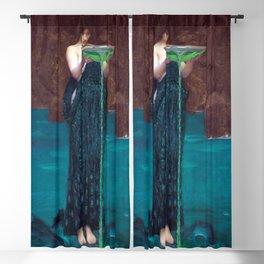 John William Waterhouse - Circe Invidiosa Blackout Curtain