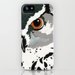 Feathered Inquiry  iPhone Case