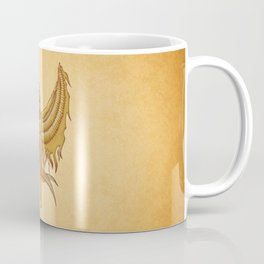 Isis, Goddess Egypt with wings of the legendary bird Phoenix Coffee Mug
