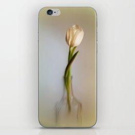 Weisse Tulpe iPhone Skin