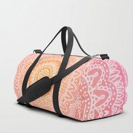 Sunset mandala Duffle Bag