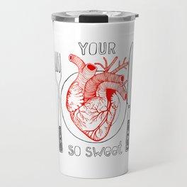 Heart Sweet Travel Mug