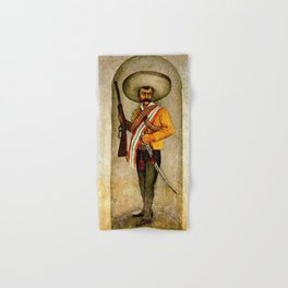"""Zapata"" by Diego Rivera Hand & Bath Towel"