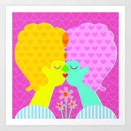 Love Who You Want Art Print