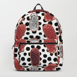 Beehive Ginger - Australian Native Floral Print Backpack