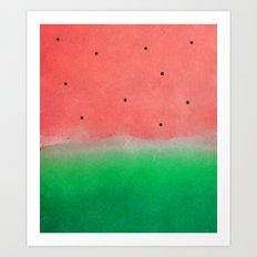 Watermelon Washout #society6 Art Print
