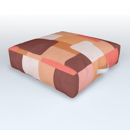 Line In Coral #society6 #abstractart Outdoor Floor Cushion