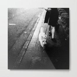 dogwalking Metal Print