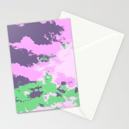Colorful Abstract Decorative Bohemian Style Pattern - Parana Stationery Cards