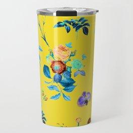 Floral Shower || #society6 #decor #buyart Travel Mug