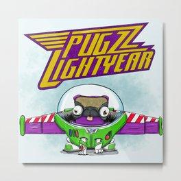 Pugzz Lightyear Metal Print