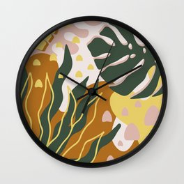 Floral Magic Wall Clock