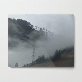 Swiss Fog II Metal Print