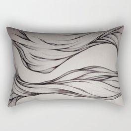 Hidden Curve Rectangular Pillow