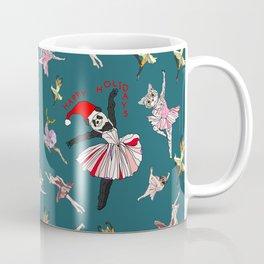 Hipster Holiday Ballerinas Coffee Mug