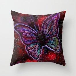 Artisan of Cosmic Gusts Throw Pillow