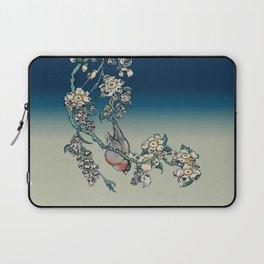 Bullfinch and Pug Cherry Laptop Sleeve