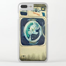 Hitchhiker's Wash Clear iPhone Case