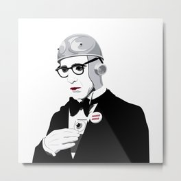 Paranoid Android Metal Print