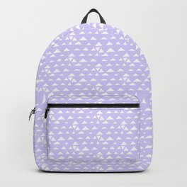 mojave, lilac tribal pattern Backpack