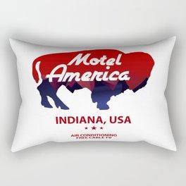 Motel America - American Gods Rectangular Pillow