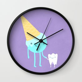 ICECREAM Wall Clock