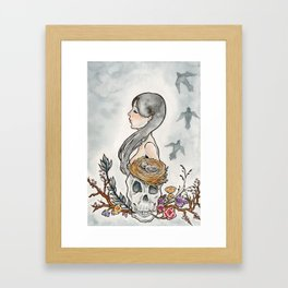 Sorrow Fall Framed Art Print