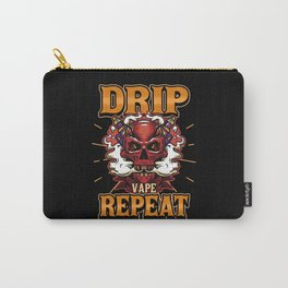 E-Cigarette Vape Vaping Smoking Saying Gift Carry-All Pouch
