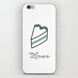 Cake lover iPhone Skin