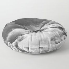Wave of Clouds Floor Pillow