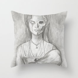 Lady Constance Throw Pillow